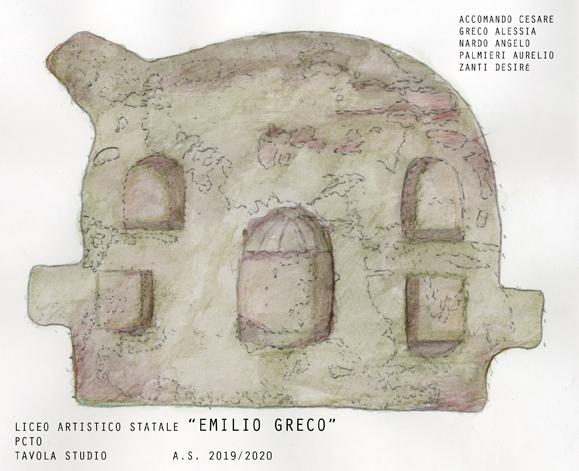 Prospetto Colombario Greco/Zanti